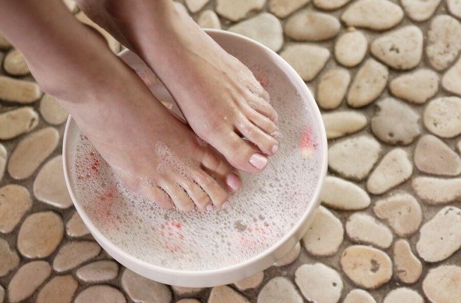 Ванночки от неприятного запаха ног