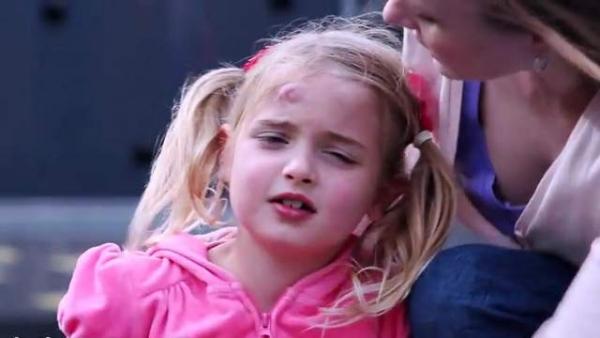 температура после удара головой у ребенка