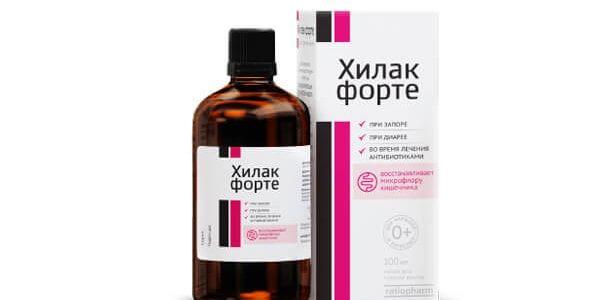 Состав лекарства Хилак-Форте