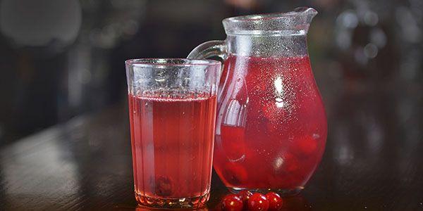 Приготовление киселя из замороженных ягод
