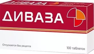 таблетки Диваза
