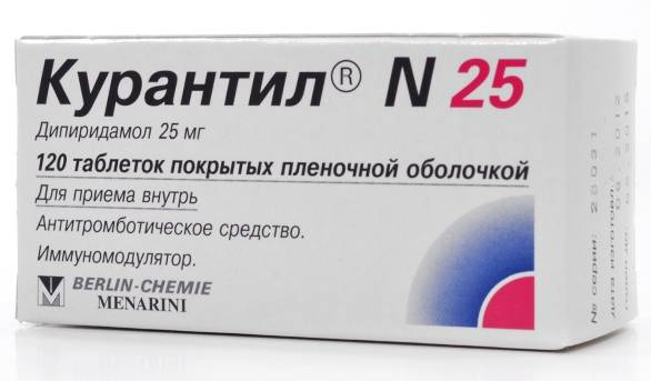 таблетки Курантил