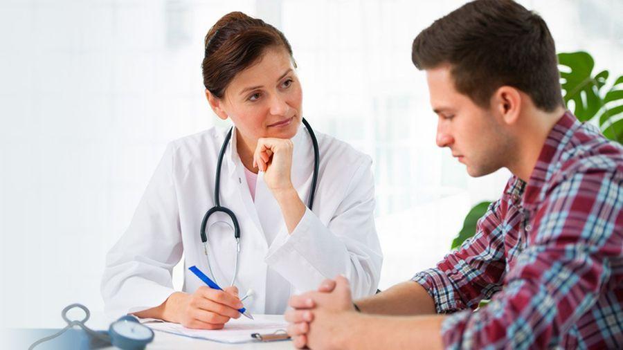 Диагностика гипергидроза при консультации с врачом