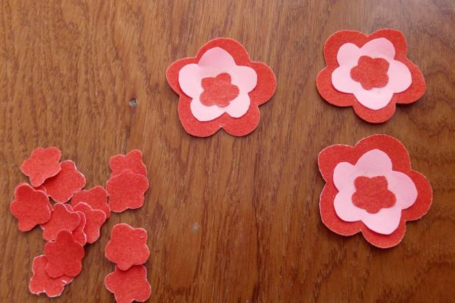 Цветы для корзинки