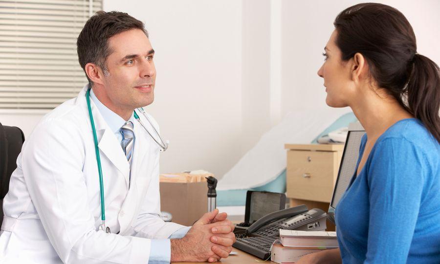 Консультация с врачом по поводу потливости