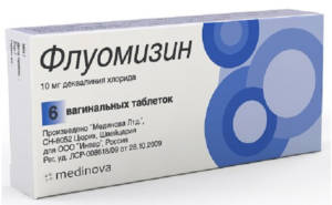 таблетки Флуомизин