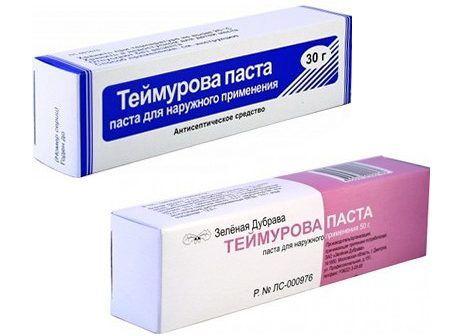 Состав и полезные свойства пасты Теймурова
