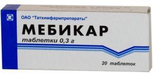 таблетки Мебикар