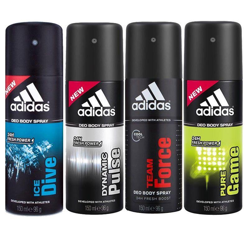 Линейка мужских дезодорантов Adidas