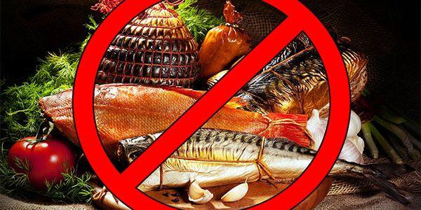 Запрещенные продукты при поносе