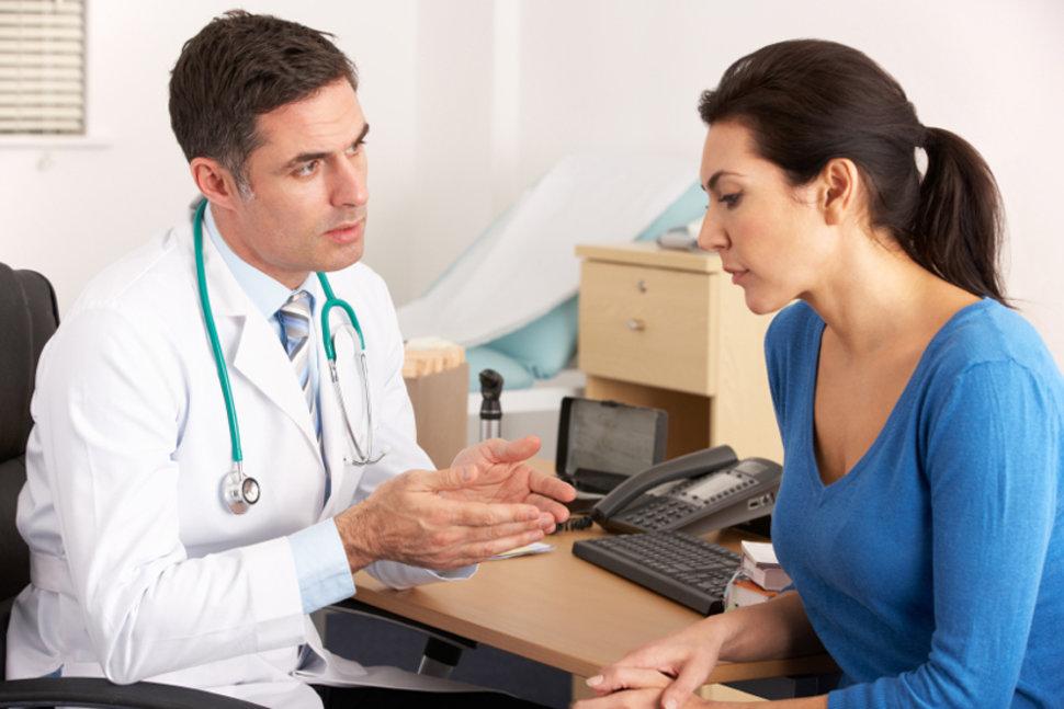 доктор и девушка