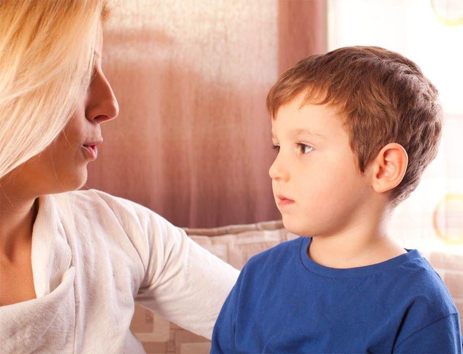 Объяснение ребенку правил использования дезодоранта
