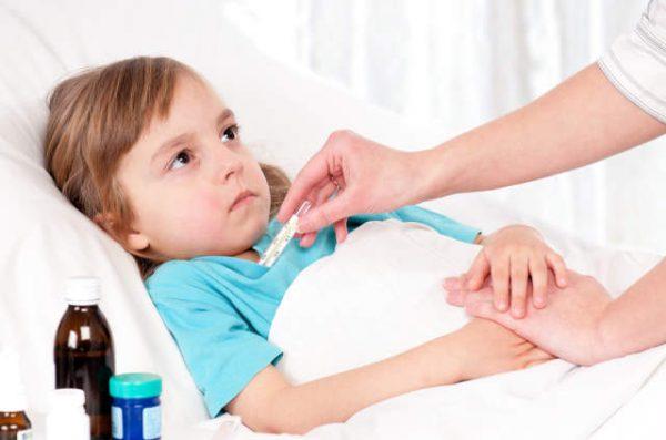 на какой день приема антибиотиков спадает температура у детей