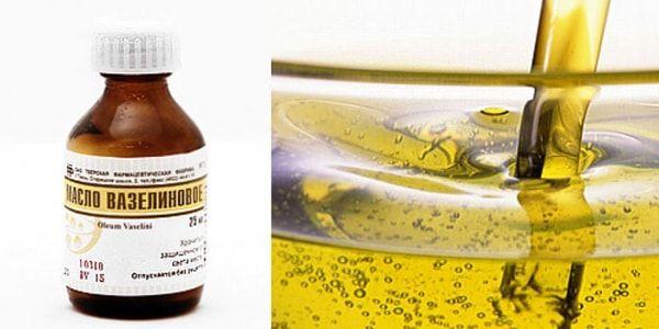 Показания к использованию вазелинового масла
