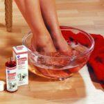 Ванночки от потливости ног с использованием эфирных масел