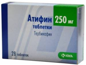 таблетки Атифин
