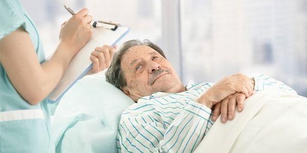 Запор у лежачих больных