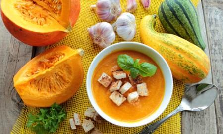 рецепт супа их тыквы