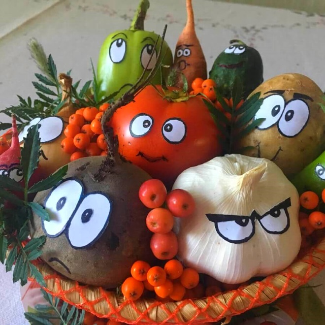 Композиция овощи