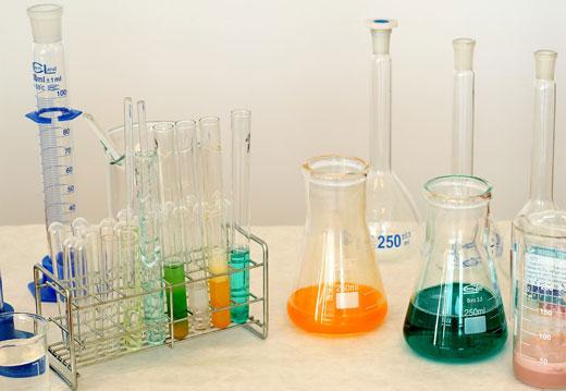 различные типы кислот