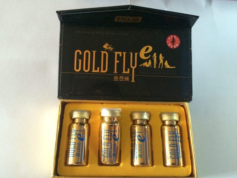 Gold Fly — золотая шпанская мушка
