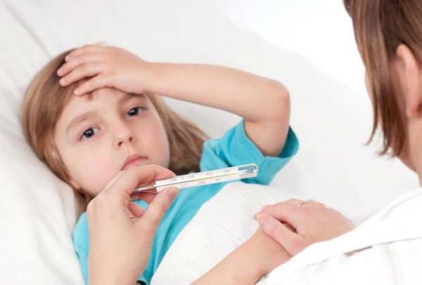 у ребенка высокая температура несколько дней