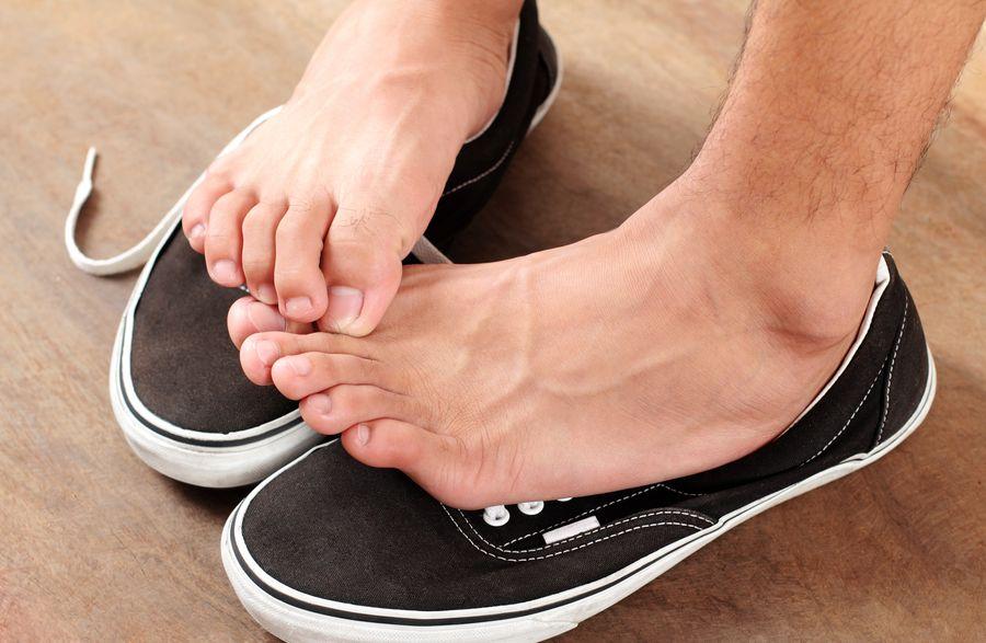 Ноги потеют и перегреваются в обуви