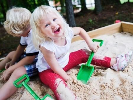 игры в песке