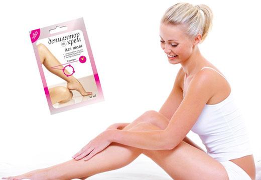 крем для депиляции ног