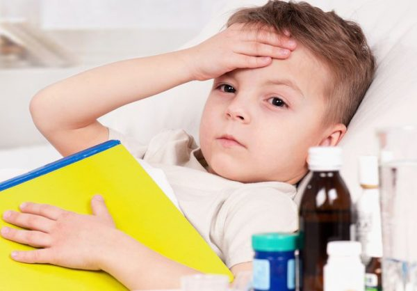 чем сбить температуру ребенку 4 года