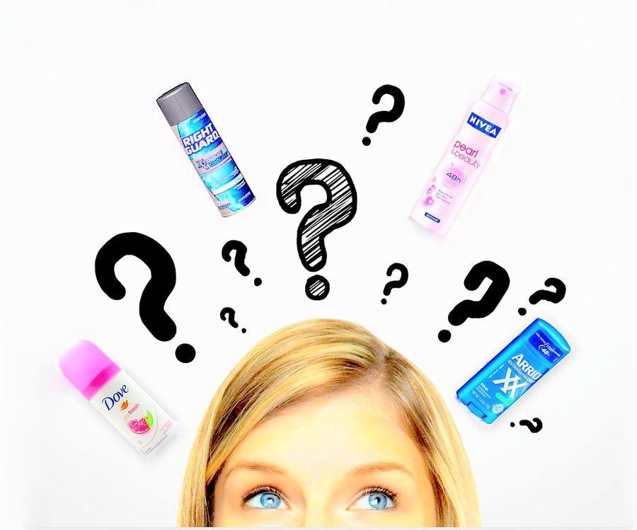 Правильный выбор дезодоранта-антиперспиранта